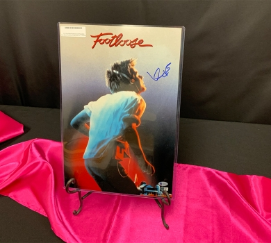 Kevin Bacon Footloose Autographed Poster